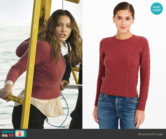 Club Monaco Zandra Sweater worn by Katharine McPhee on Scorpion