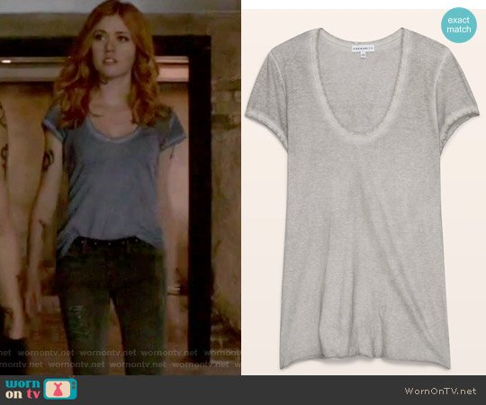 Bavius T-Shirt by Community worn by Katherine McNamara on Shadowhunters