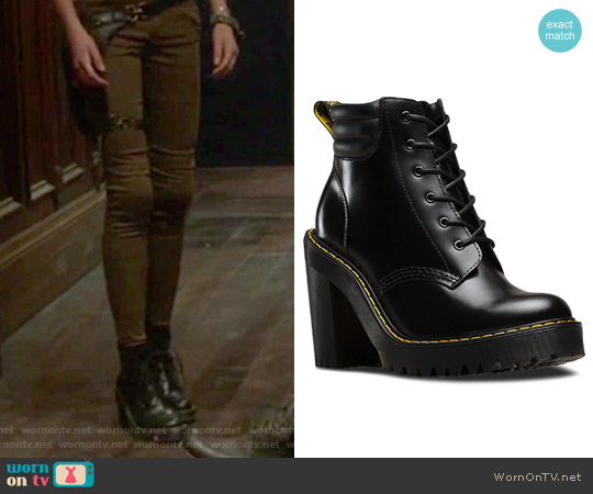 Persephone Platform Boot by Dr.Martens worn by Clary Fray on Shadowhunters