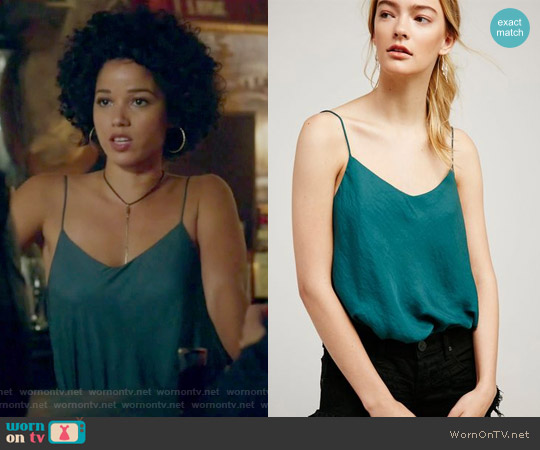 Turning Heads Bodysuit by Free People worn by Alisha Wainwright  on Shadowhunters