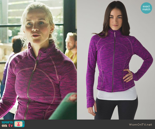 Lululemon Hustle in Your Bustle Jacket worn by Madeline Martha Mackenzie (Reese Witherspoon) on Big Little Lies