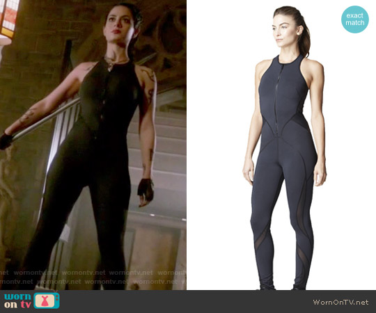 Medusa Jumpsuit Black by Michi worn by Isabelle Lightwood (Emeraude Toubia ) on Shadowhunters