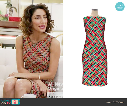 Miranda Konstantinidou Angry Swan in Love Dress worn by Delia (Necar Zadegan) on GG2D