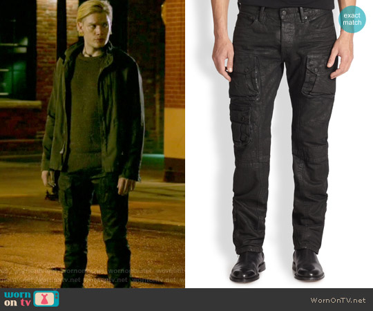 Courier Cargo Pants by Polo Ralph Lauren worn by Jace Wayland (Dominic Sherwood) on Shadowhunters