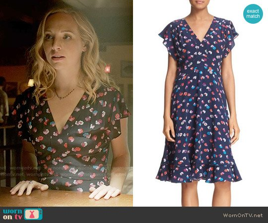 Rebecca Taylor Sakura Dress worn by Candice Accola on The Vampire Diaries