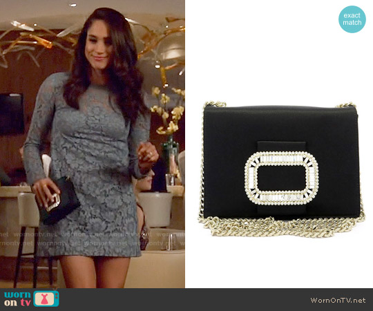 Roger Vivier Micro Evening Bag worn by Rachel Zane on Suits