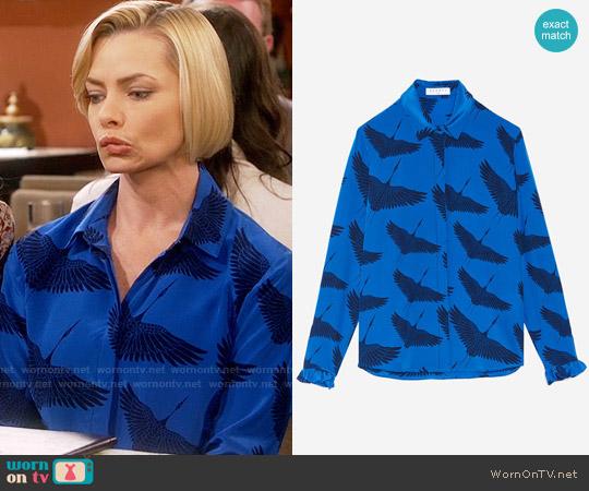 Sandro Lena shirt worn by Jill Kendall (Jaime Pressly) on Mom