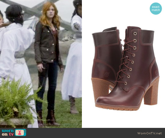 Earthkeepers Glancy 6 inch Boot by Timberland worn by Katherine McNamara on Shadowhunters
