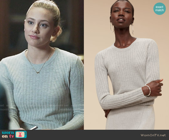 Babaton Nathaniel Sweater worn by Lili Reinhart on Riverdale