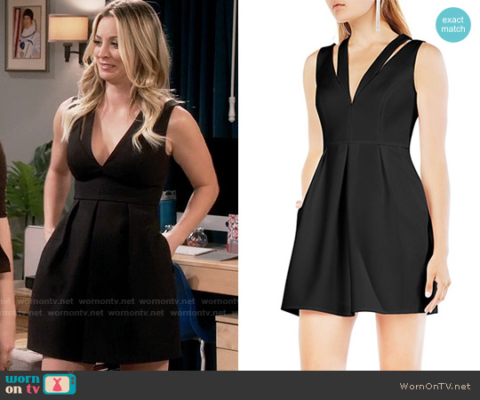 Bcbgmaxazria Clayre Dress worn by Penny Hofstadter (Kaley Cuoco) on The Big Bang Theory