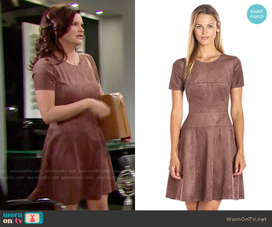 Bcbgmaxazria Darra Dress worn by Heather Tom on The Bold & the Beautiful