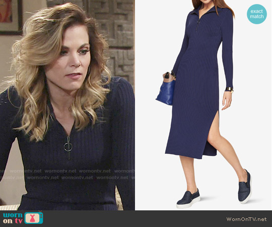 Bcbgmaxazria Sonja Sweater Dress worn by Phyllis Newman (Gina Tognoni) on The Young & the Restless