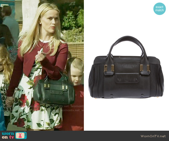 Chloe Alice Mini Satchel worn by Reese Witherspoon on Big Little Lies