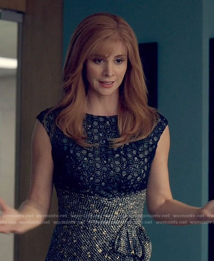 Donna's eyelet dress on Suits