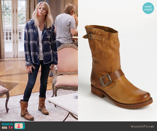 Frye Veronica Shortie Boots worn by Mackenzie Murphy (Kaitlin Olson) on The Mick