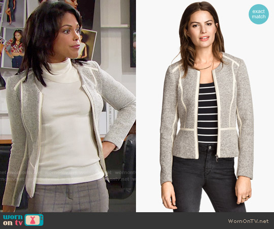 H&M Short Jacket worn by Maya Avant (Karla Mosley) on The Bold & the Beautiful