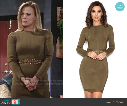 House of CB Shula Dress worn by Gina Tognoni on The Young & the Restless