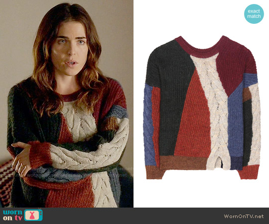 Isabel Marant Gao Sweater worn by Karla Souza on HTGAWM