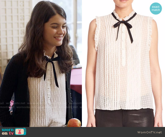 Joie Toledo Top worn by Sofia Black D'Elia on The Mick