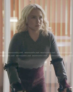 Juliette's two-tone sweater on Nashville