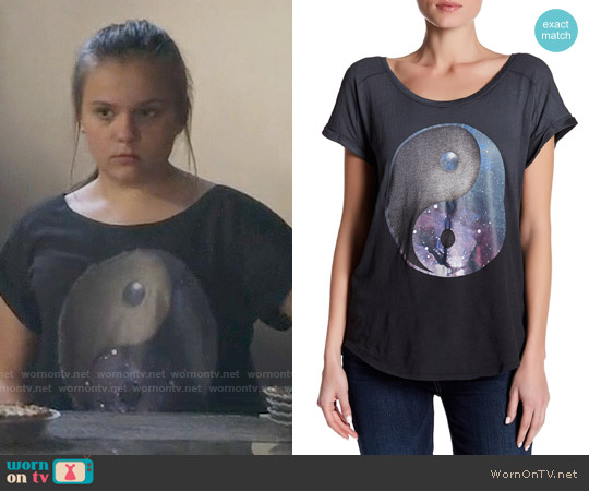 Lucky Brand Yin Yang Tee worn by Maisy Stella on Nashville