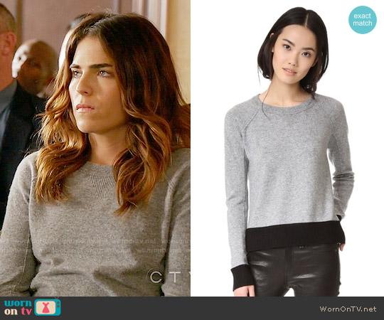 Rag & Bone Charley Sweater worn by Laurel Castillo (Karla Souza) on HTGAWM