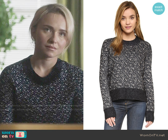 Rag & Bone Scarlett Sweater worn by Hayden Panettiere on Nashville