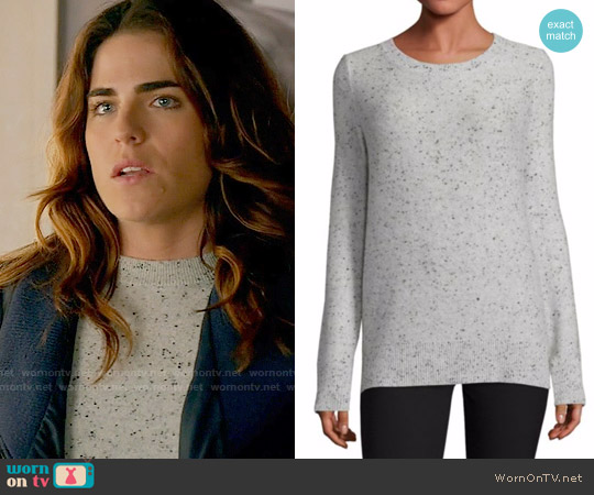 Rag & Bone Tamara Sweater worn by Karla Souza on HTGAWM
