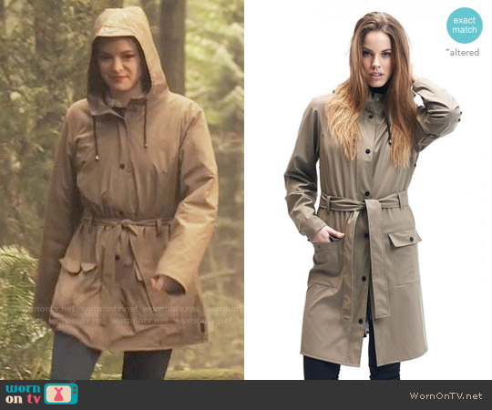 Rains Curve Jacket worn by Caitlin Snow (Danielle Panabaker) on The Flash