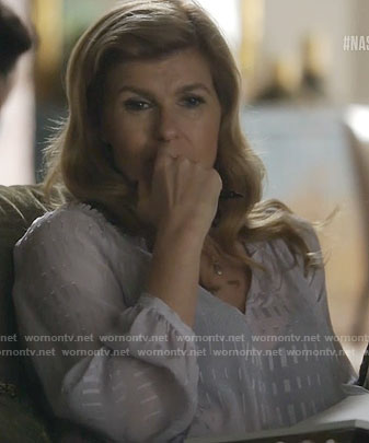 Rayna's sheer blouse on Nashville