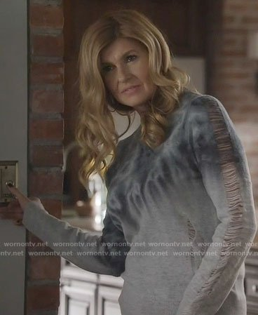 Rayna's tie dye sweater on Nashville