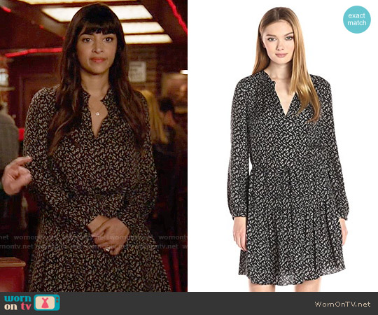Rebecca Taylor Dragonfly Dress worn by Hannah Simone on New Girl