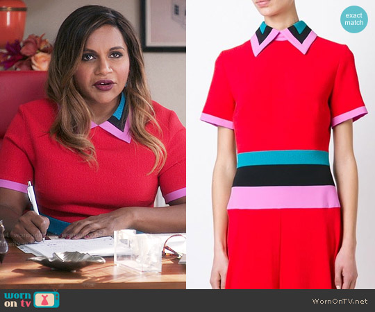 Roksanda Zubin Dress worn by Mindy Lahiri (Mindy Kaling) on The Mindy Project