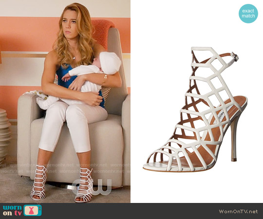 Steve Madden Slithur Sandals worn by Petra Solano on Jane the Virgin