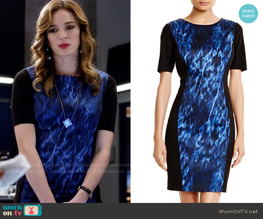 T Tahari Allison Dress worn by Danielle Panabaker on The Flash