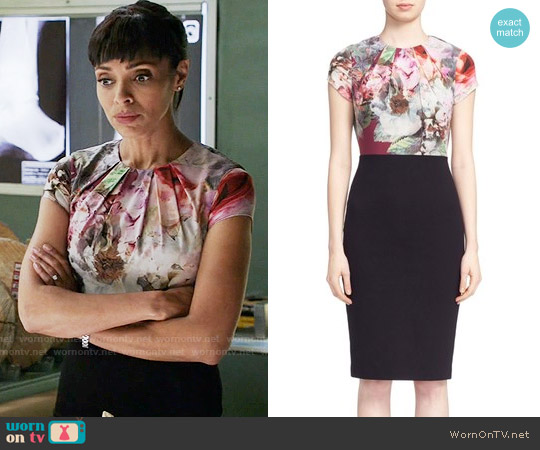 Ted Baker Ceyara Dress worn by Tamara Taylor on Bones