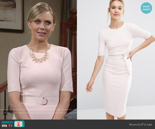 Ted Baker Wandee Dress worn by Melissa Ordway on The Young & the Restless