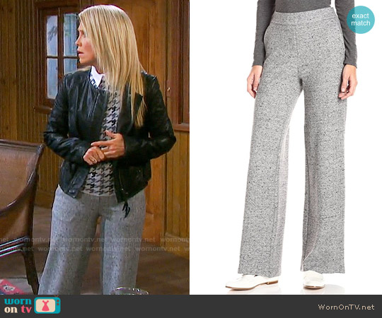 Theory Talbert Parkdale Pants worn by Jennifer Horton on Days of our Lives