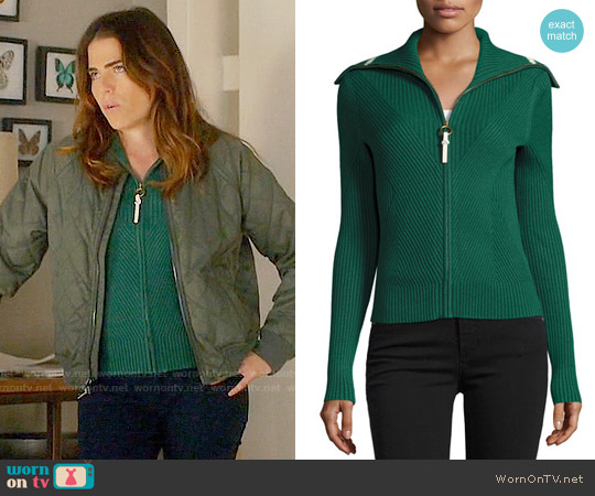 Tory Burch Noland Sweater worn by Karla Souza on HTGAWM