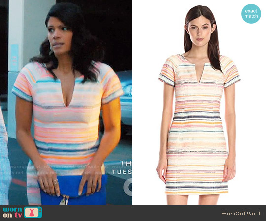 Trina Turk Angela Dress worn by Andrea Navedo on Jane the Virgin