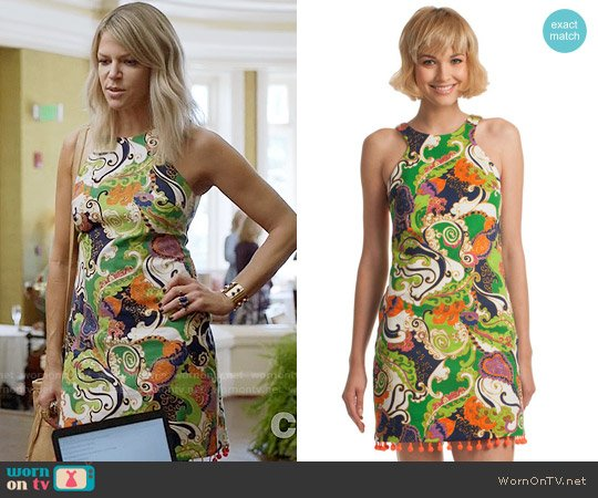Trina Turk Aptos 2 Dress worn by Kaitlin Olson on The Mick