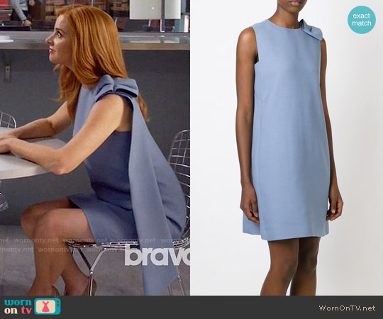 Valentino Bow Detail Dress worn by Sarah Rafferty on Suits