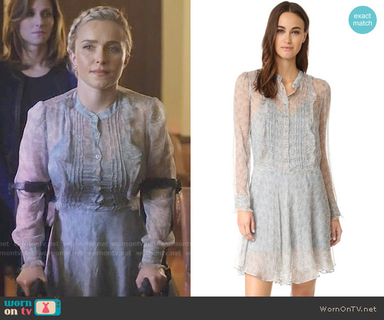Zadig & Voltaire Romia Dress worn by Hayden Panettiere on Nashville