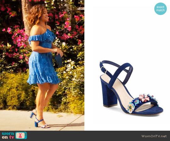 BP Lula Block Heel Slingback Sandal worn by Jane Villanueva on Jane the Virgin