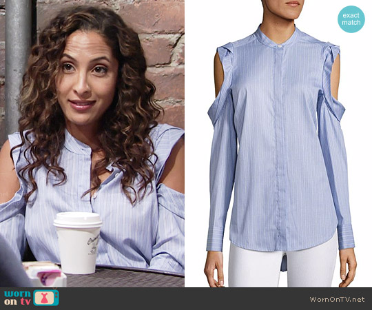 Bcbgmaxazria Nishani Top worn by Lily Winters (Christel Khalil) on The Young & the Restless