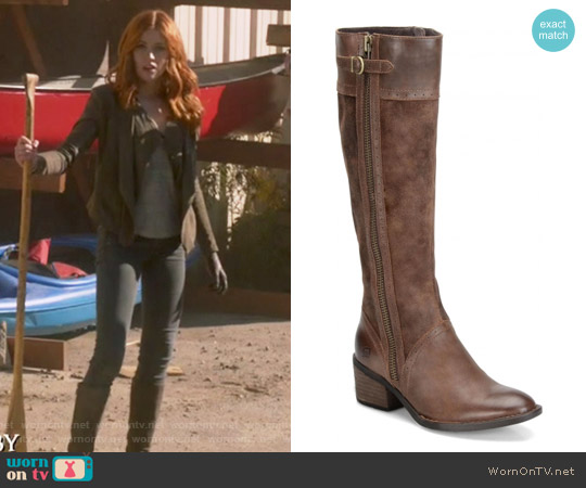 Poly Riding Boot by Born worn by Katherine McNamara on Shadowhunters