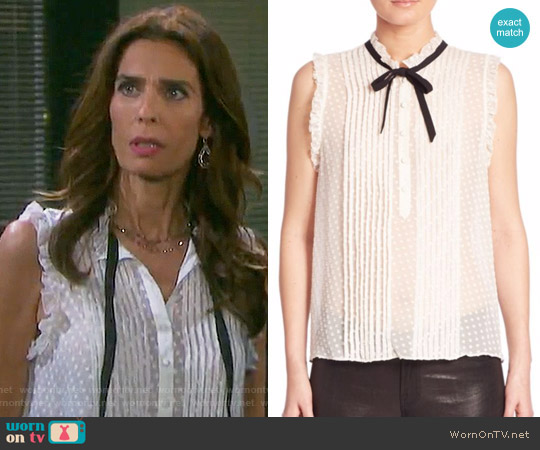 Joie Toledo Top worn by Kristian Alfonso on Days of our Lives