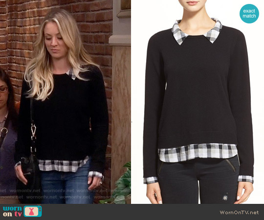 Joie Zhen Sweater worn by Penny Hofstadter (Kaley Cuoco) on The Big Bang Theory