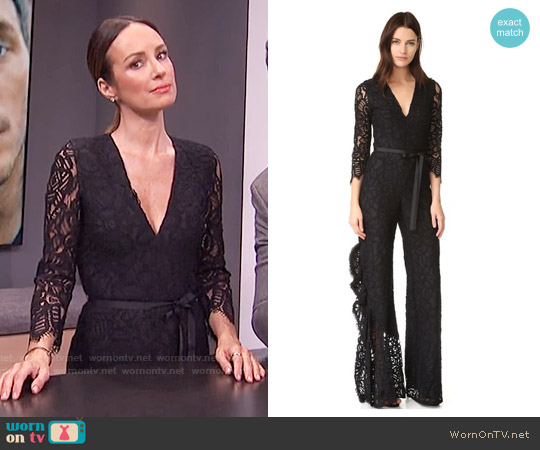 Alexis Rosario Jumpsuit worn by Catt Sadler on E! News