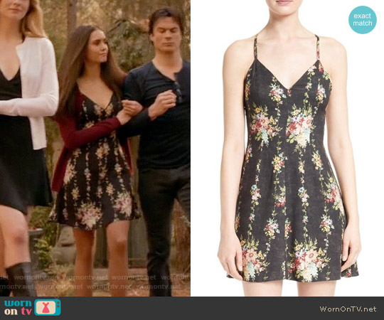 Alice + Olivia Alves Dress worn by Elena Gilbert (Nina Dobrev) on The Vampire Diaries